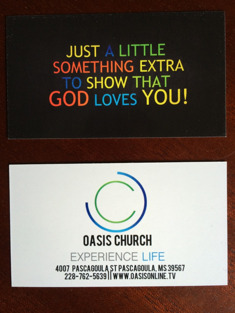 Random Acts of Kindness Cards for Oasis family...